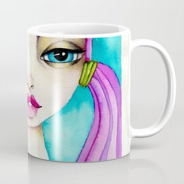 Original Watercolor IIIustration/Eve by JennyMannoArt Coffee Mug