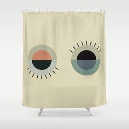 day eye night eye Shower Curtain