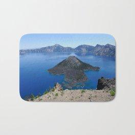 Crater Lake Volcanic Crater Oregon USA Bath Mat