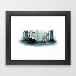 Saga/Calvin Framed Art Print
