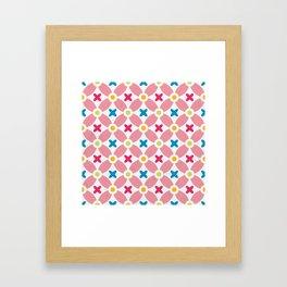 Holand Flower Garden Pattern Framed Art Print