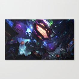 Battle Boss Ziggs League Of Legends Canvas Print