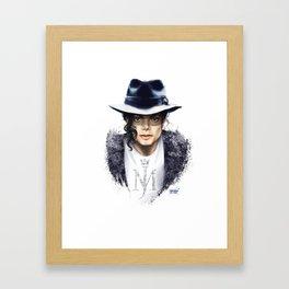 MichaelJackson Framed Art Print