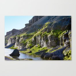 Tears of the mountain Canvas Print