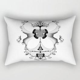 Fractal Art - Angel and Skelleton Rectangular Pillow