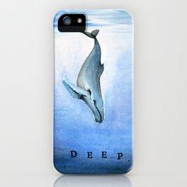 Deep - Whale 21 iPhone Case