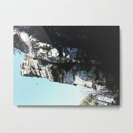 Cliffs at Noon Metal Print