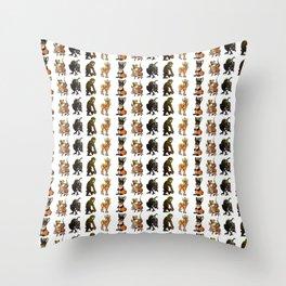 Cryptids Throw Pillow