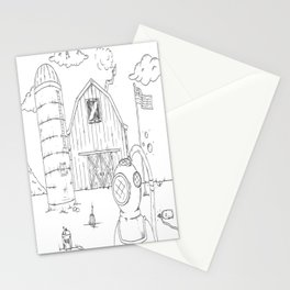 farmingDIVER Stationery Cards