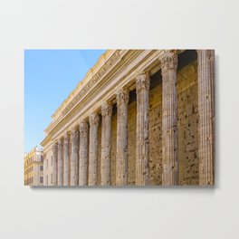 The Pantheon in Rome Italy Metal Print