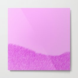 Purple Savanna Metal Print