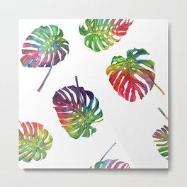 Tropical plant Metal Print