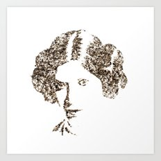 Spices Leia - Black Pepper Art Print