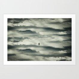The Last Man Art Print