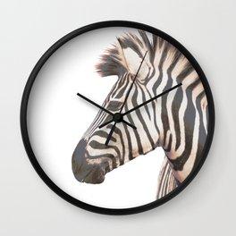 Zebra Punk Wall Clock