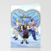 kingdom hearts Stationery Cards featuring Kingdom Hearts by clayscence