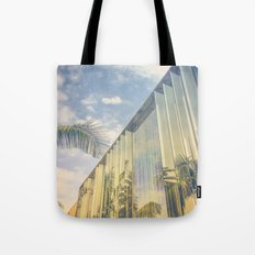 Beverly Hills - Palm Reflections Tote Bag