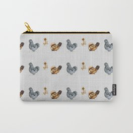 Floral Silkies Carry-All Pouch