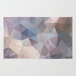 Polygon pattern 9 Rug