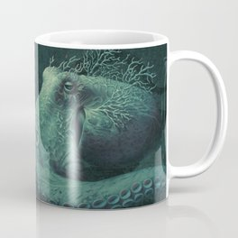 Coral Octopus Coffee Mug