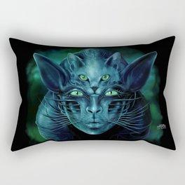 Cat People Rectangular Pillow