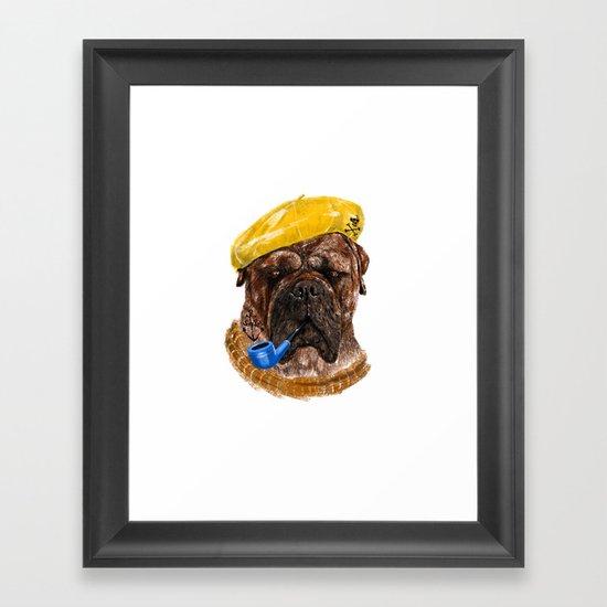 Mr.Boss Framed Art Print
