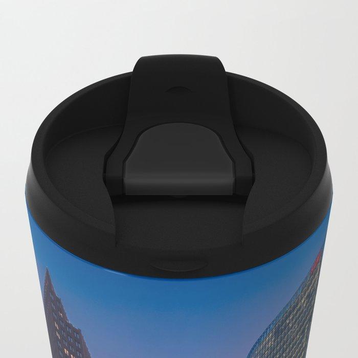 Traffic Lights Metal Travel Mug