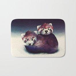 red pandas Bath Mat