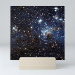 LH 95 in the Large Magellanic Cloud Mini Art Print