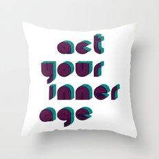 Growing Up Throw Pillow
