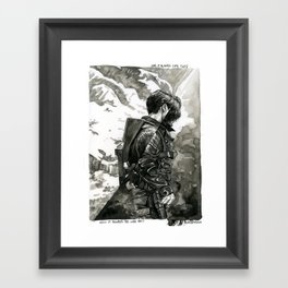 was it always like this Framed Art Print