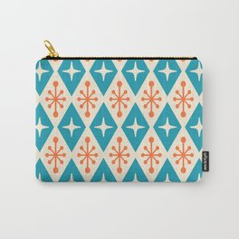 Mid Century Modern Atomic Triangle Pattern 107 Carry-All Pouch