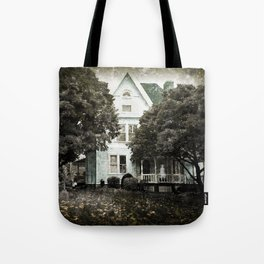 Haunted Hauntings Series - House Number 3 Tote Bag