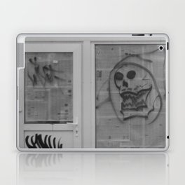 Death's newspaper booth Laptop & iPad Skin