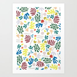 playing with matisse Art Print
