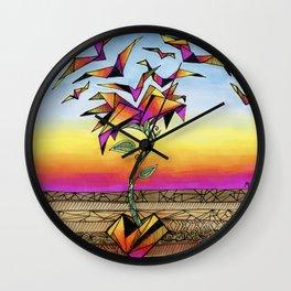 Hard Love Wall Clock