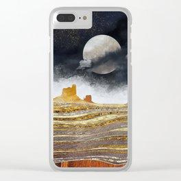 Metallic Desert Clear iPhone Case