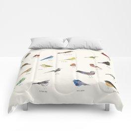 little nature birds Comforters
