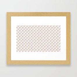 death cute Framed Art Print
