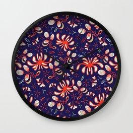 Chrysantemum Wall Clock
