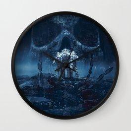 Planet of Doom Wall Clock