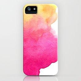 Kalahari sunset iPhone Case