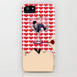 I Hate Love iPhone Case