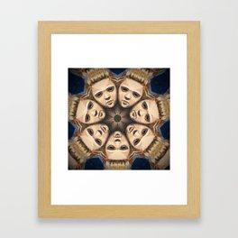 Kaleidoscope G12 Framed Art Print