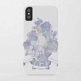 Skull & Roses iPhone Case