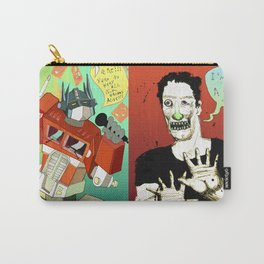 Pop mix of the some of the greats pop culture memories.  Carry-All Pouch