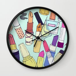 The make-up enthusiast Wall Clock
