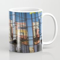 san diego Mugs featuring San Diego  by Penelope Clute