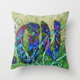 A Fractal of Love Throw Pillow
