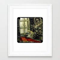 cinderella Framed Art Prints featuring Cinderella by Sylwia Telari